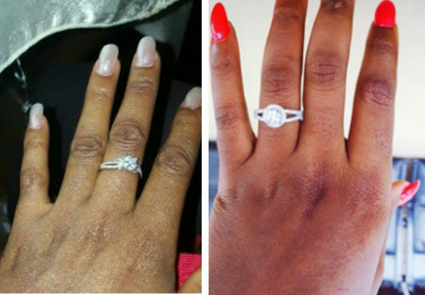 on which finger should a wear engagement ring