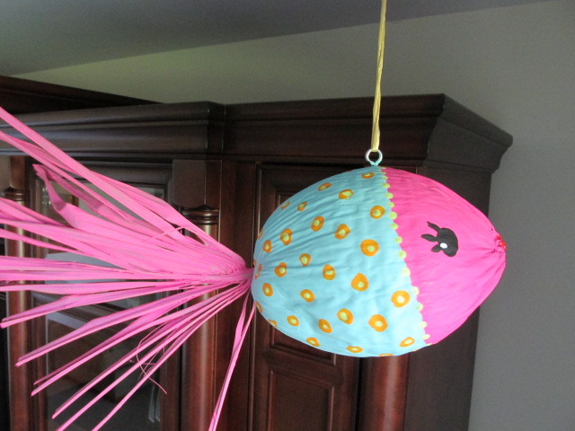 craft klatch how to make a coconut kissing fish craft