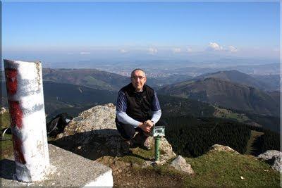 Eretza mendiaren gailurra 880 m. - 2011ko martxoaren 6an