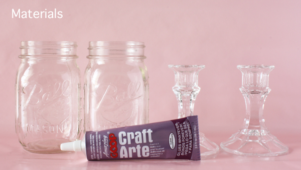 DIY Project Mason Jar Wine Glasses UBetts Rental Design