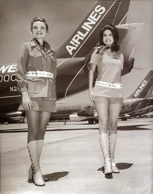 Vintage Stewardess Uniforms 5