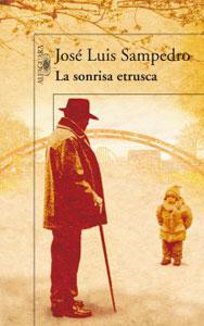 Portada de La sonrisa etrusca, de José Luis Sampedro