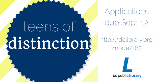 One City Youth: What? Teens of Distinction is hiring? Sign me up!
