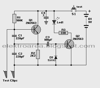 ELECTRONIC SCHEMATIC    DIAGRAM         WIRING       DIAGRAM      CIRCUIT    DIAGRAM    RESOURCES  CRYSTAL TESTER