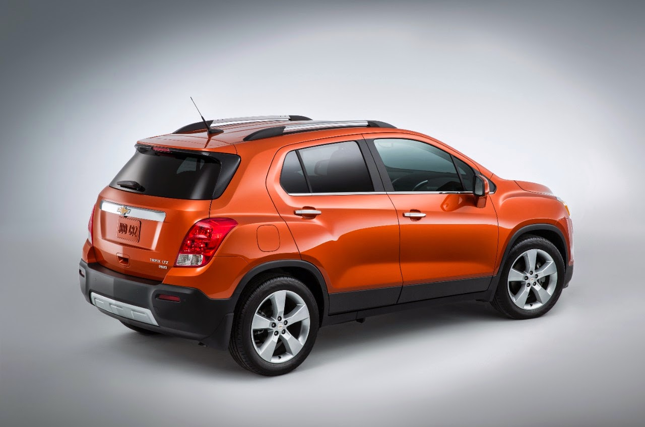 Chevrolet Trax (Orange Rock Metallic)