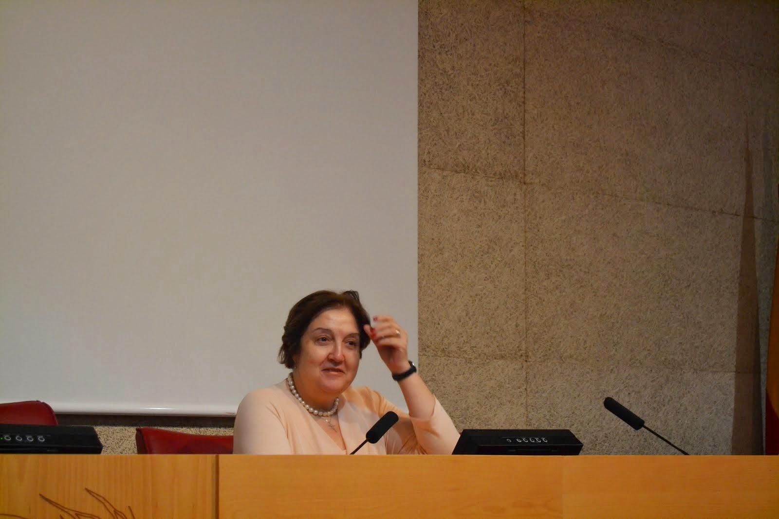 Nuestra profesora Angélica Zapatero