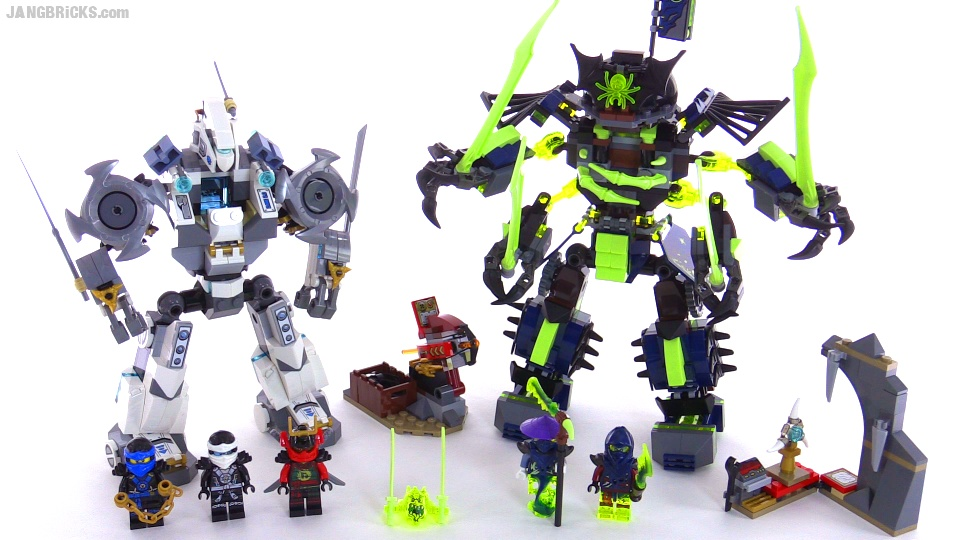 LEGO Ninjago Titan Mech Battle build & review! set 70737