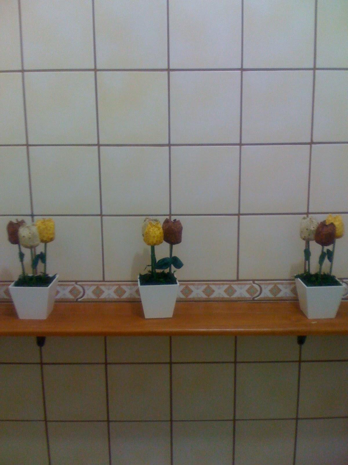 Mundo da Ma Decoração Banheiro Social -> Decorar Banheiro Social