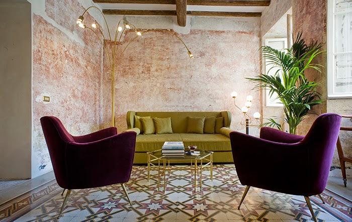 Italienische Designklassiker im rauen Vintage Charme – G-Rough Design Hotel in Rom