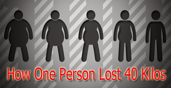Success ٍStory: How One Person Lost 40 Kilos