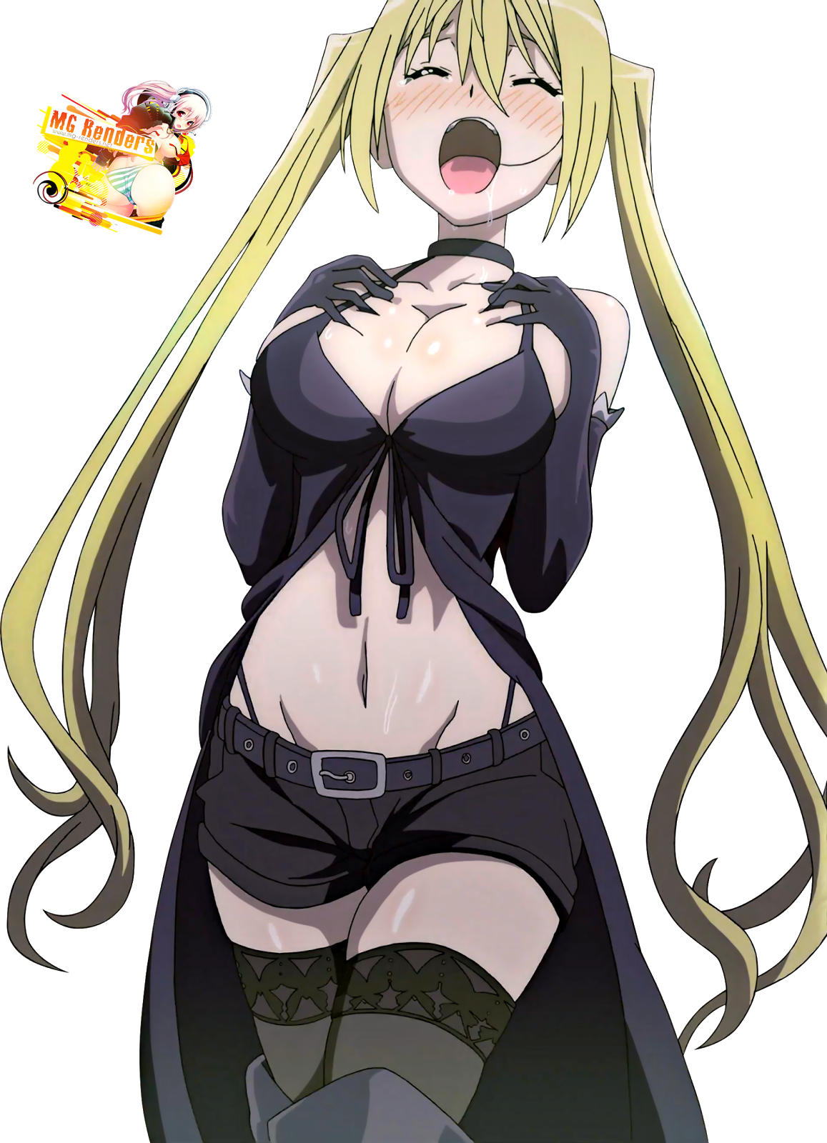 Tags: Anime, Render,  Lieselotte Sherlock,  Trinity Seven,  PNG, Image, Picture