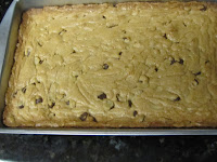 Chocolate chips Cookie bar