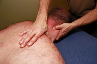 Deep tissue neck massage by Andrew