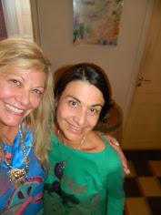 Silvia Ramos de Barton y Gabriela Celeste