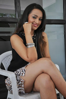 Actress Ester Noronha  Pictures at Jalsarayudu Movie Launch Event 027.jpg