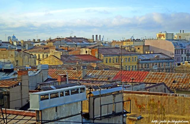 крыши Петербурга, Питер крыши