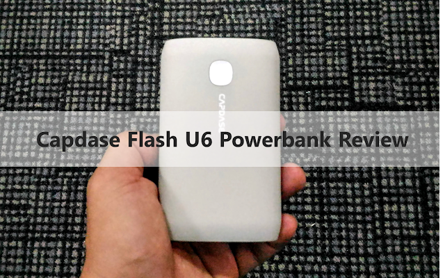 Capdase Flash U6 Powerbank Review