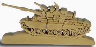3D Army Tank