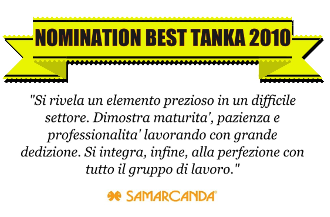 Nomination al BEST TANKA VILLAGE 2010