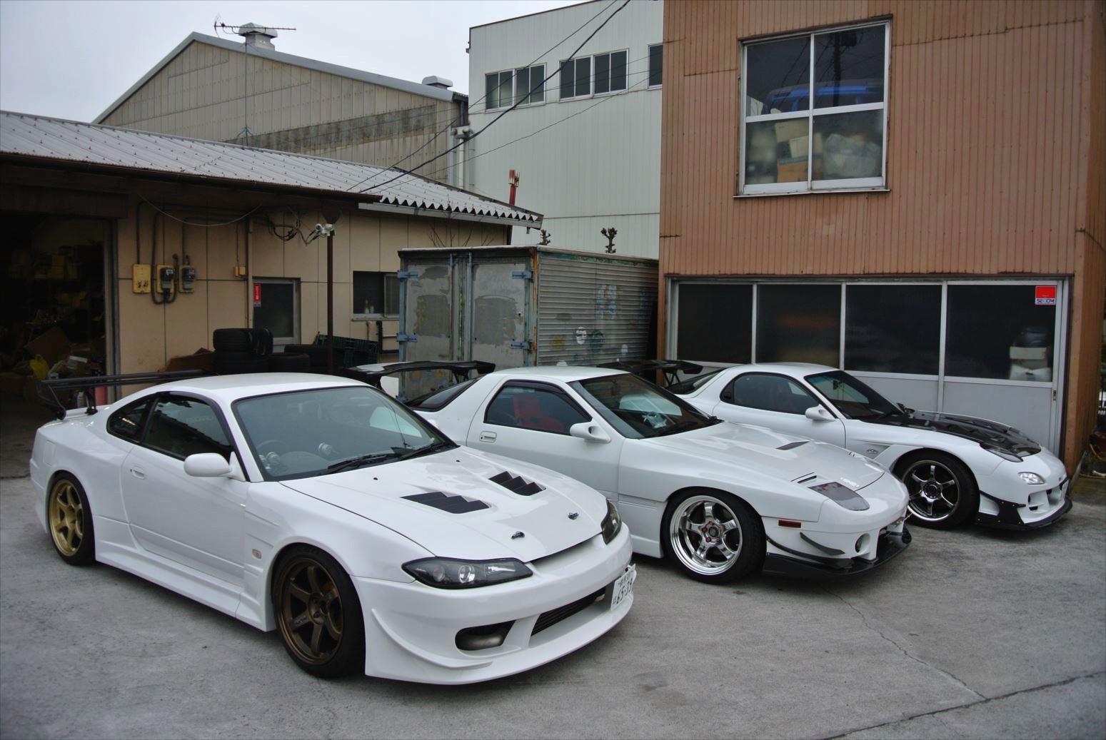 Nissan Silvia S15, Mazda RX-7 FC & FD, popularne sportowe samochody, auta do driftu, tuning