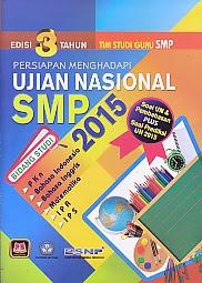 toko buku rahma: buku UJIAN NASIONAL SMP 2015 EDISI 3 TAHUN, pengarang tim studi guru, penerbit pustaka setia