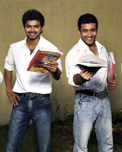 Surya And Vijay Stills With vijay and surya.