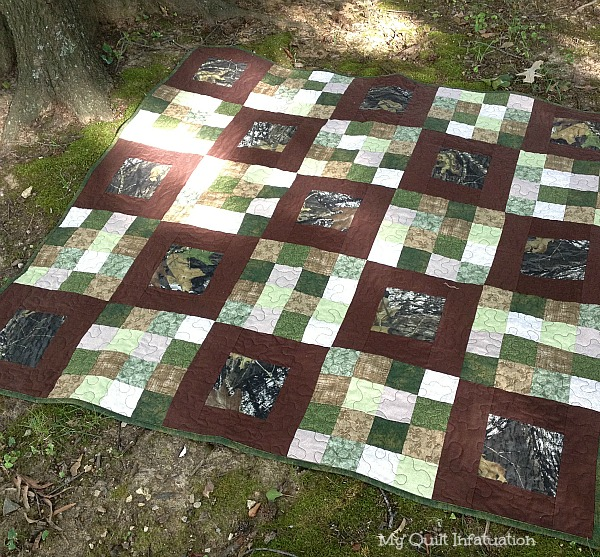 My Quilt Infatuation: For Love of The Great Outdoors : hunting quilts - Adamdwight.com