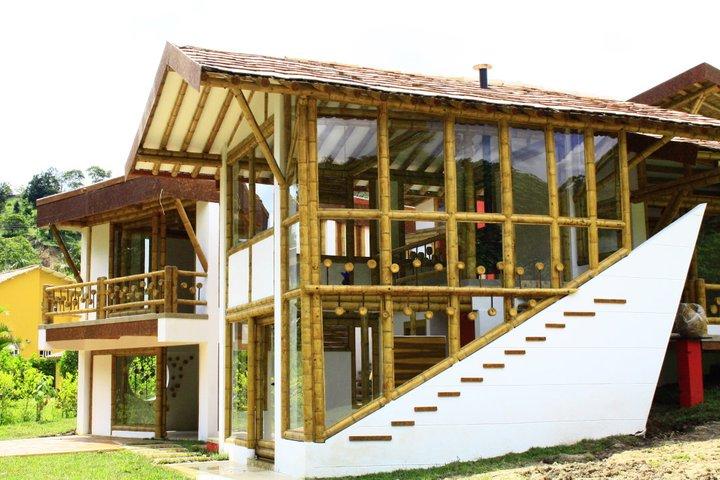 Bambushow casas de bambu glamour na constru o for Techos livianos para viviendas