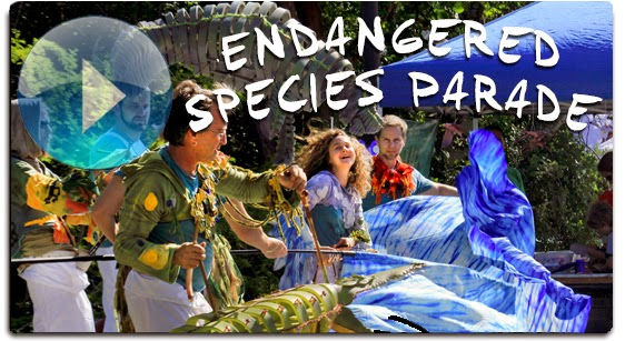 Click for a preview of IBEX Puppetry's Endangered Species Parade