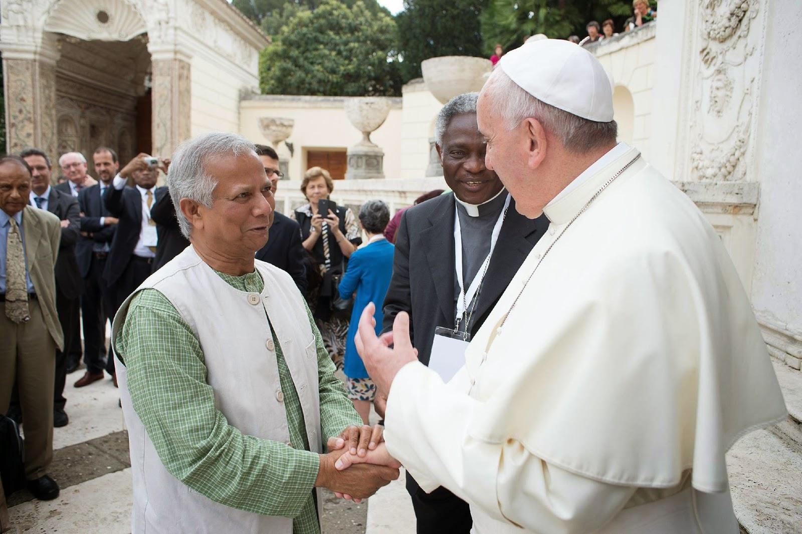 Call Me Jorge Francis Sought Advice From Muhammad Yunus