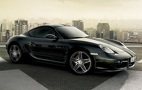 New Design Modern Cars Porsche Cayman S Black Edition 3