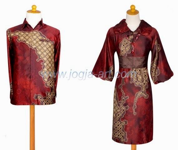 Foto Baju Batik Sutra