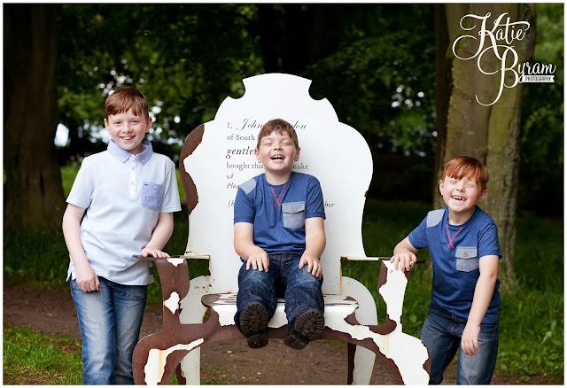 family portraits newcastle, hardwick park, katie byram photography