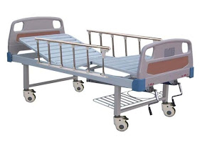 ABS hospital bed double fowler