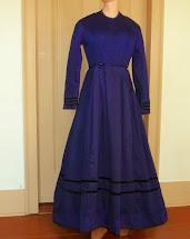 Purple Dresses for Women 1860