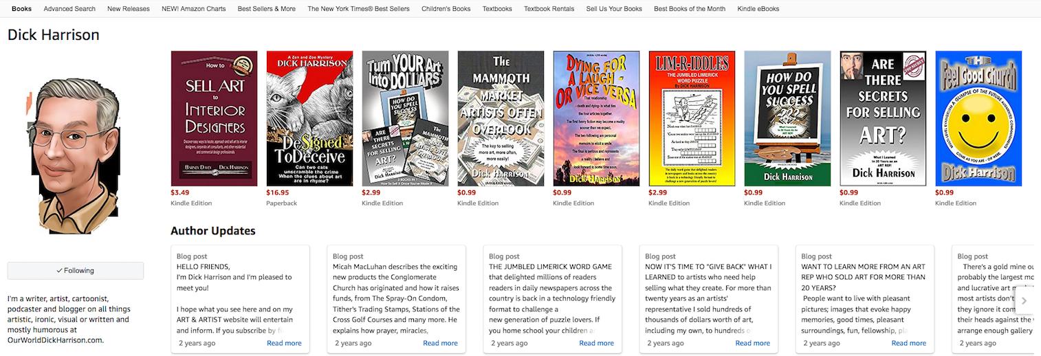 Amazon's Author Page