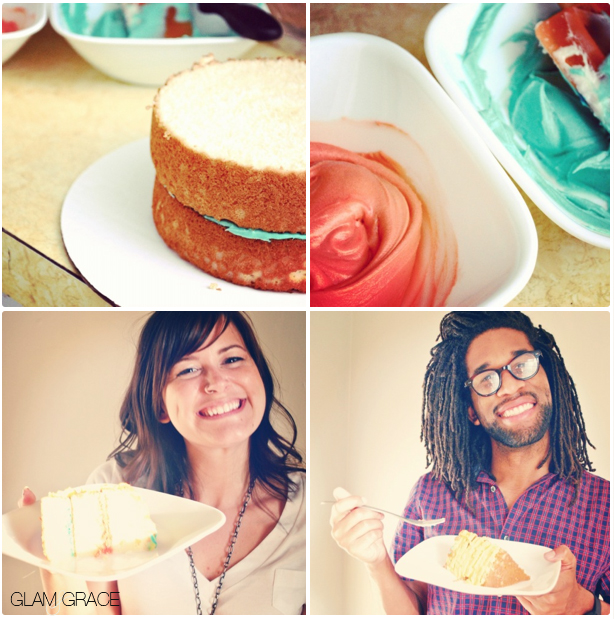 Cake party! Layer cake creation