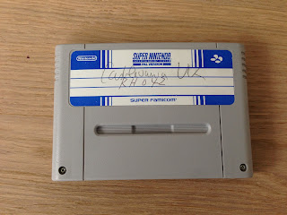 Rare SNES prototype Cartridge
