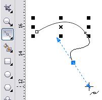 Membuat Garis Lengkung Dengan Bezier Tool di Coreldraw