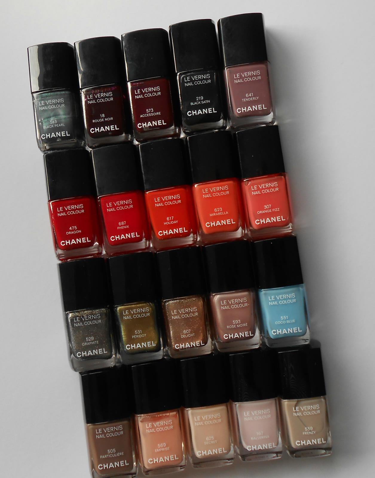 Chanel Nail Polish Collection