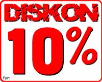 Diskon 10% Pembelian Di Atas 3 Pcs Atau Lebih