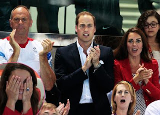 Prince William & Kate Middleton's Freestyle Swimming Disappointment » Gossip | Prince William | Kate Middleton