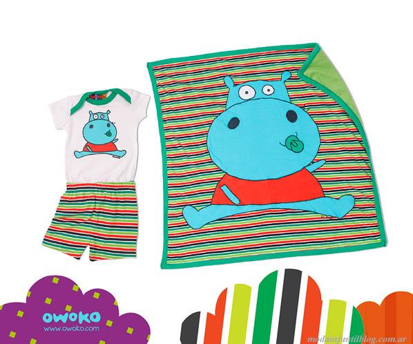 ropa de bebes owoko verano 2014