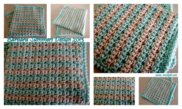 washcloth, face cloth, how to crochet, swatch one