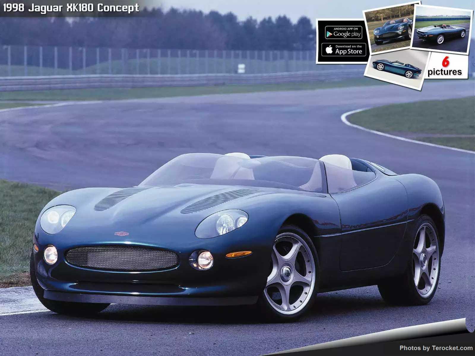Hình ảnh xe ô tô Jaguar XK180 Concept 1998 & nội ngoại thất