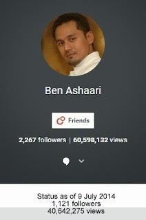 Google Plus - G+ Ben Ashaari