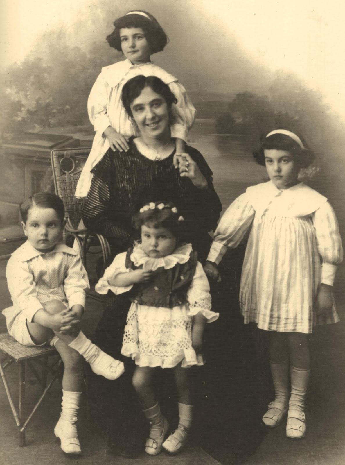 moda infantil 1900