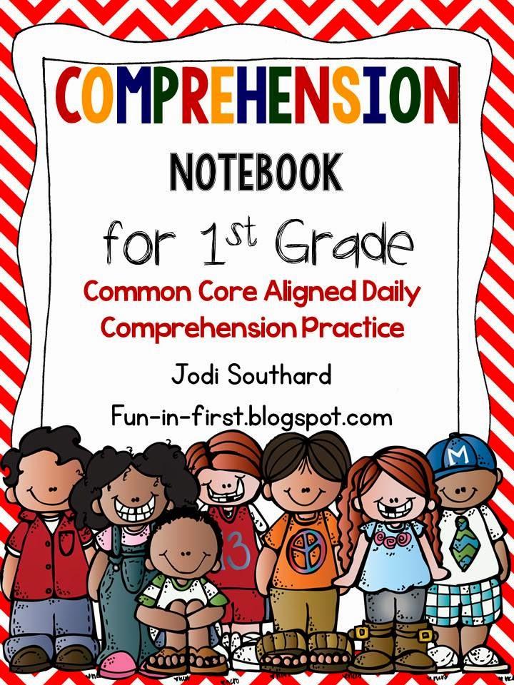 http://www.teacherspayteachers.com/Product/Comprehension-Notebook-1st-Grade-Edition-910528