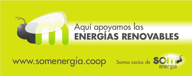 Apoyamos las Energías Renovables