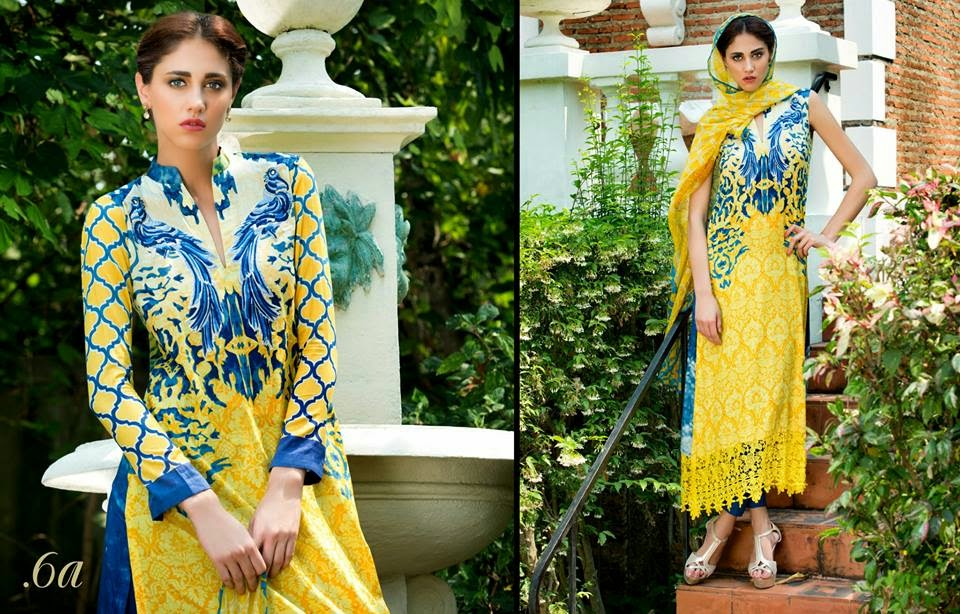 Al-Zohaib Luxury Lawn 2015 Collection
